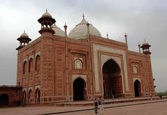 The Mosque in Taj Mahal