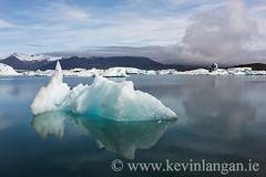 Jkulsrln Glacial Lagoon, Iceland (Kevin Langan Photography) Tags: iceland glacier icebergs jokulsarlon 2012 glaciallagoon kevinlangan iceland2012