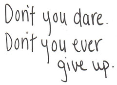 Don't Give Up On Us. (hollywoodhollows) Tags: writing lyrics text themaine dontgiveuponus