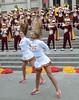 Img284819nx2a (veryamateurish) Tags: london trafalgarsquare cheerleaders band usc universityofsoutherncalifornia girl woman miniskirt