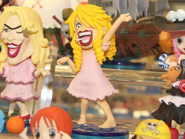 One Piece 海賊王 WCF系列 最新28 29代 展覽照片