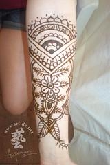 aupoman-hk-henna-tattoo-arm (artdenet@gmail.com (Aupoman)) Tags: hk mehndi hennatattoo  unpermanenttattoo aupaman