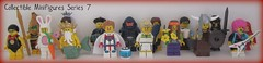 8831 Collectible Minifigures Series 7 (Be) Tags: bride hippie bagpiper daredevil series7 computerprogrammer jungleboy rockergirl vikingwoman aztecwarrior oceanking galaxypatrol swimmingchampion evilknight tennisace collectibleminifigures numbers116 bunnysuitguy grandmavisitor
