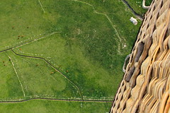 From the Basket (andrewpug) Tags: sun hot green happy basket air balloon pasture hotairballoon wyoming wicker ballooning whicker