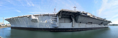 USS Independence CV 62 Panoramic (bkraai2003) Tags: navy bremerton aircraftcarrier ussindependencecv62 southworthbikeride