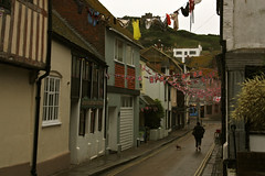 Bunting! (forced rhubarb) Tags: street pants underwear knickers jubilee clothes hastings washing bunting washingline