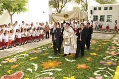 Junio 11: Procesión Corpus Christi