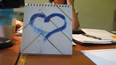 Cor (Enjoyit16) Tags: blue love azul paper office calendar heart bureau amor oficina amour hertz papel blau papier azzurro cor cuore amore calendari calendario kalendar d