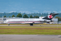 C-GCJZ - Cargojet Airways - Boeing 727-225/Adv(F) (bcavpics) Tags: canada vancouver plane airplane britishcolumbia aircraft aviation cargo boeing airways yvr freighter 727 cargojet cgcjz
