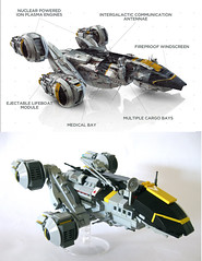 The USCSS Prometheus (onosendai2600) Tags: lego alien ridleyscott sciencefiction spaceship microscale weweresoverywrong heyilikedthemovieokay