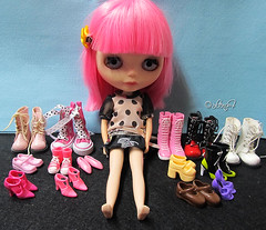 Blythe a Day: 26 - Shoes