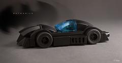 Batmobile Noir (_Tiler) Tags: lego mini batman dccomics batmobile classicbatmobile legobatmobile legominibatmobile classiclegobatmobile neoclassicbatmobile