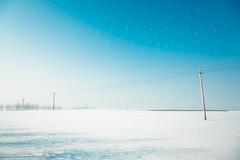 Falling Snow (chungshane) Tags: winter sky snow northeastchina