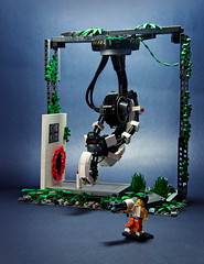 GLaDOS (2) (pitrek02) Tags: life 2 lego valve half portal lugpol