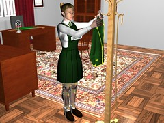 Late teen Girl Hangs Blazer Prior to Psychotherapy / Discipline Session in the Doctor's Office  08 (g0jbb2) Tags: domination bondage spanking schooluniform hypnosis mindcontrol hypnotherapy humiliation discipline caning callipers corporalpunishment governess legbraces angelafox legcallipers garthtoyntanen strictgovernesses