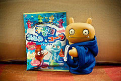 Uglyworld #1600 - Sweeties Surpriser (Project TW - Image 188-366) (www.bazpics.com) Tags: face project bottle cool asia candy sweet hsinchu taiwan surprise tray oriental uglydoll 2012 uglydolls wage 366 barryoneilphotography