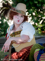 Chastity Trollop (Jim Frazier) Tags: costumes party summer portrait people usa festival wisconsin pose bristol relax actors nikon eyecontact break meetup cosplay streetperformers character caps performance performing relaxing hats july posed parties fair portraiture acting faire shows rest resting perform costuming relaxed performers performer wi renaissance bristolrenaissancefaire reenactment fayre reenactors 2012 breaktime roles renaissancefair lightroom kenosha chastity reenacting trollop d90 q2 bristolrenaissancefair eyetoeye wscf 5000people westsuburbanchicagoflickrers onmybreak imonmybreak ldjuly ©jimfraziercom adifferentpersona ld2012 20120707bristol