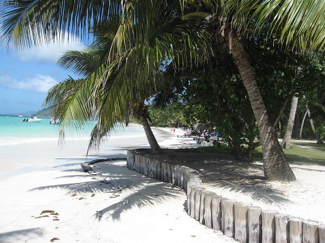 Playa Anse Volbert, Isla Praslin, Seychelles