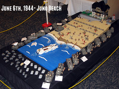 "June 6th, 1944- Juno Beach (""Rumrunner"") Tags: world 2 house canada beach war lego wwii ii ww2 ww normandy dday juno worldwar2 rumrunner brickfete"