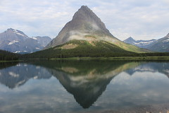 View from Many Glacier Hotel (Alison Michele) Tags: lake hotel many glacier national