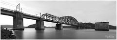 Rivers_Of_History (Beetwo77) Tags: bridge panorama seascape water landscape pano railway australia panoramic nsw stitching stitched hawkesburyriver autopano multirow autopanogiga sonynex7