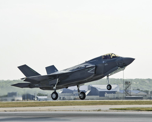 International F-35 Fleet Begins Build Up at Eglin Air Force Base