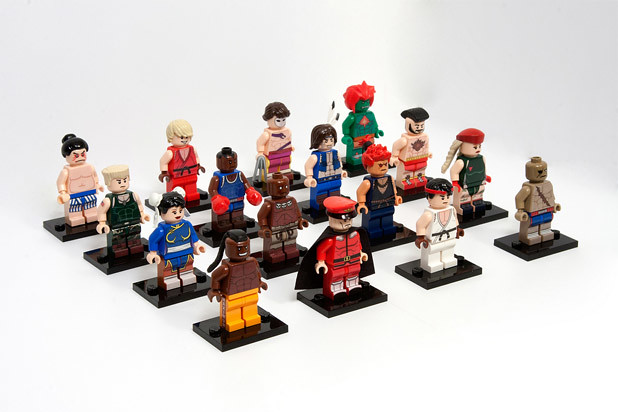 Street Fighter LEGO Minifigs 樂高 街頭霸王 人偶
