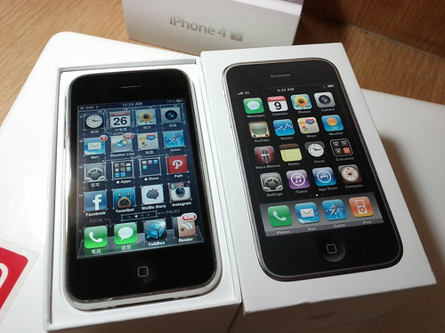 iOS 5 和 iOS 3