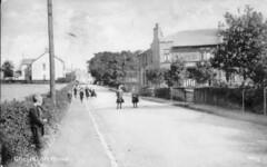 Chryston Road, North Lanarkshire, 1913. (Paris-Roubaix) Tags: road vintage scotland north scottish postcards chryston lanarkshire