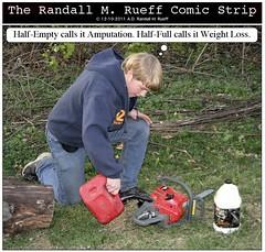 # 8,310 Chainsaw 10 (Randall M. Rueff the 5th.) Tags: 3008 therandallmrueffcomicstrip8 399ofbook20
