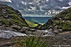 HDR1 (Richard Hayward Photography) Tags: uk mountain canon landscape eos high dynamic plateau side country hill scout kinder range hdr 550d