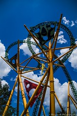Busch Gardens II (Ricymar Photography(Thanks Everyone!!!!)) Tags: desktop wallpaper sky tampa screensaver martha background ricardo buschgardens serrano rollercoster mangual ricardomangual marthaserrano