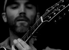 concentration (wobblyfingers) Tags: music white black west eli dof bluegrass live sage gateshead acoustic and americana mandola hs10 summertyne morrisonandwest