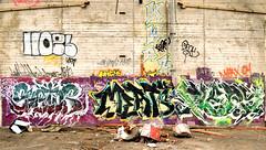 hoes / kwaz / sestor / meats / piers (thesaltr) Tags: art abandoned graffiti piers bayarea eastbay meats hoes urbex oms sestor kwaz b003 thesaltr