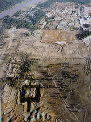 Aerial view of Babylon (marc's pics&photos) Tags: london history geotagged ancienthistory ancient middleeast britishmuseum ziggurat towerofbabel reallyold neareast ancientiraq ancienthistoryofthemiddleeast ancienthistoryoftheneareast