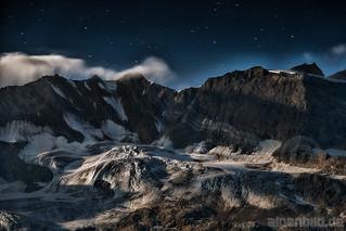 Gletscher im Mondschein - Glacier in the Moonlight