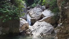 Gole del Salinello - rocks in the water (GlobalQuiz.org) Tags: gole del salinello mountains trekking