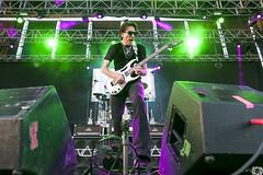Steve Vai @NochesBotanico (F. R. Garcia) Tags: stevevai nochesdelbotanico madrid ucm complutense rock guitar ibanez alfonsoxiii botanico live music lights photography nikon