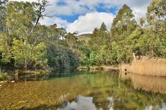 Vanitys Crossing (~Jek~) Tags: water river geotagged australia aus cotter australiancapitalterritory cotterriver vanityscrossing geo:lat=3534609949 geo:lon=14888991728
