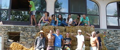 EDE, building a new world together (Damanhur, Federation of Communities) Tags: building world together people straw ecovillage education design