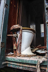 Photo challenge 2016 - 29/52  - Old (chando*) Tags: old train wagon carriage bowl wc toilettes watercloset photochallenge viroinval cuvette treignes cf3v musedutrain exploredjuly172016356