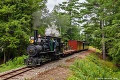 Just past Sutter's Crossing... (kdmadore) Tags: wwf wiscassetwatervillefarmington wiscasset alna steamlocomotive railroad narrowgauge maine2foot wwfry train