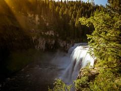 mesa falls-1 (stoshphoto) Tags: yellowstone montana motorcycle trip travel olympus adventure mountains forest lake stream waterfall