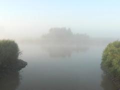 mystic (achatphoenix) Tags: early earlymorning fog foggy misty august water eau eastfrisia onthebridge aqua wasser ostfriesland brumedumatin