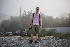 Fog Rolling In (Evan's Life Through The Lens) Tags: camera canon 5d mark iii three 3 beautiful vibrant color lens glass 2470mm f28 zoom telephoto wide haze fog exposure bright sun summer 2016 friend adventure green blue beach explore trek through weather