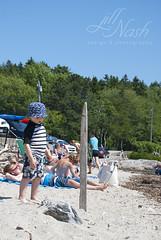 Surf's up (grilljam) Tags: august2016 summer seamus 4yrs hendricksheadbeach