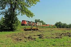 COTEAU STACK (fenaybridge) Tags: cn es44 es44ac gec 3080 2858 coteau ontario canadiannational railway