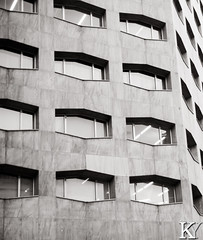 I found the design of these windows to be very unique (ZKent.Yousif) Tags: chiyodaku tkyto japan jp  chku  minatoku canon sigma sigma1750mm 50mm streetphotography street building architecture