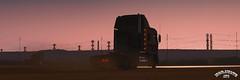 ats_02229 (ets2.morawatz) Tags: freightliner argosy truck americantrucksimulator game screenshot cabover desert sunset dust sandstorm dirt road ca california midroof artwork west southwest