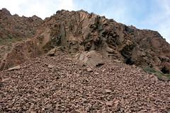 Part 2: Qinghai Province/Tibetan Plateau, China (Hesperia2007) Tags: china asia qinghai tibetanplateau birding tour rocks geology scree scenery view culture habitat mountains highelevation